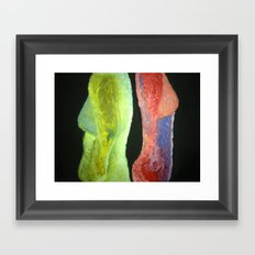 Woman Vs Woman Framed Art Print