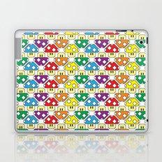 Rainbow Mushrooms Laptop & iPad Skin