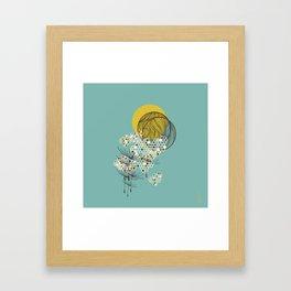 Seasons Time Space Framed Art Print