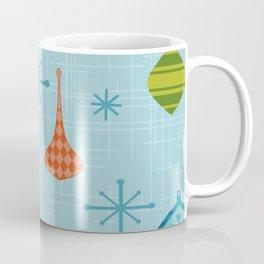 Mid Century Modern Christmas Ornaments Coffee Mug