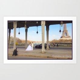 Photo: Sunday in Paris (7 April 13) Art Print