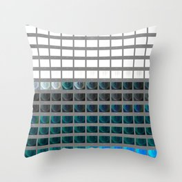 one = many / many = one / contact ddd Throw Pillow