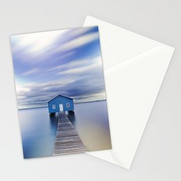 Blue Boat House Stationery Cards