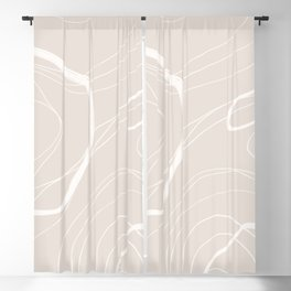 BASIC | TOPOGRAPHY NEUTRAL Blackout Curtain