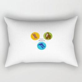Save Nature_02 Rectangular Pillow