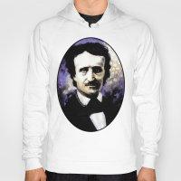 literary Hoodies featuring Edgar Allan Poe by Rouble Rust