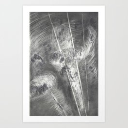 transmutated perennials  Art Print