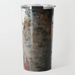 Pieces of a Wall Travel Mug