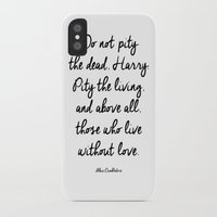 dumbledore iPhone & iPod Cases featuring HARRY POTTER // ALBUS DUMBLEDORE II by Brittney Weidemann