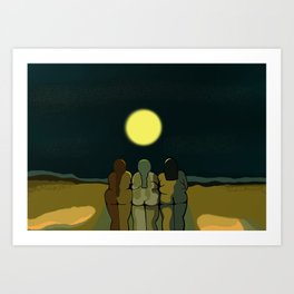 The Beauty of Land Scapes Art Print