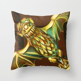 Haunted Mansion Bat Stanchion Throw Pillow