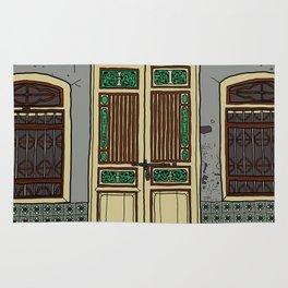 Old Penang Door #5 Rug