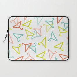 Coloured Hangers Laptop Sleeve