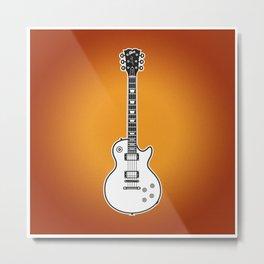 Gibson Les Paul Standard Metal Print