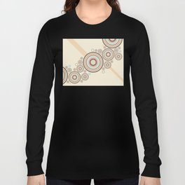 Colorful Graphic Rings Long Sleeve T-shirt