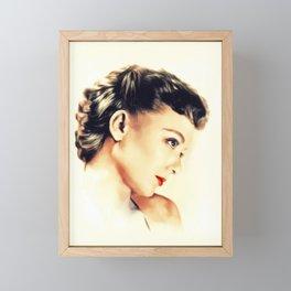 Barbara Baxley, Actress Framed Mini Art Print