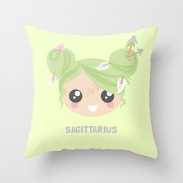 Sagittarius Throw Pillow