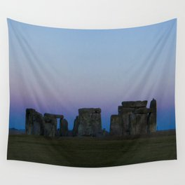 Stonehenge In Pink Wall Tapestry