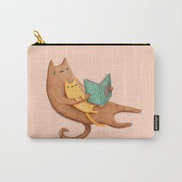 The Cat's Mother Carry-All Pouch