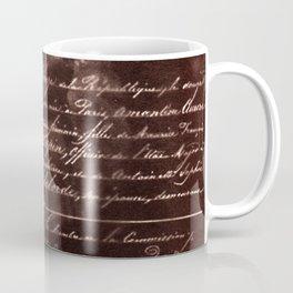 Ballerina II (brown edition) Coffee Mug