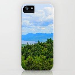 Lake George Overlook iPhone Case