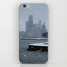 Chicago in the Snow iPhone & iPod Skin