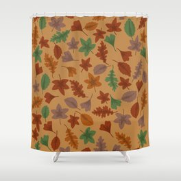 Autumn leaves #3 Shower Curtain