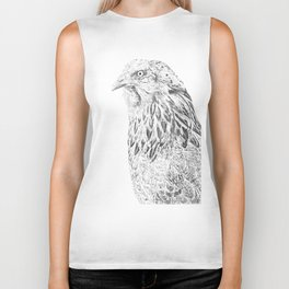 she's a beauty drawing Biker Tank