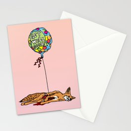 GET WELL SOON Stationery Cards