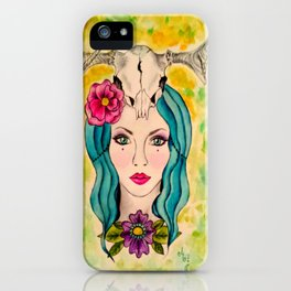 Goddess of The Sacred Wood s iPhone Case