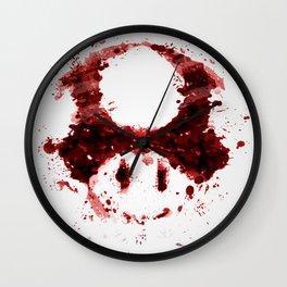 Graphic Nostalgia Wall Clock