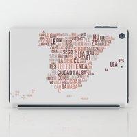 spain iPad Cases featuring Spain by eneasmarin