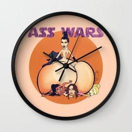 Kim Kardashian Ass wars Wall Clock