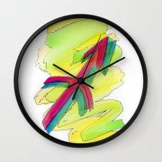 Sagittarius flow Wall Clock