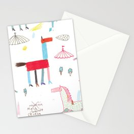 MerryGoRound Stationery Cards