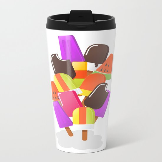 Ice cream 5 Metal Travel Mug