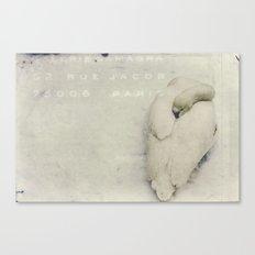 february. Canvas Print