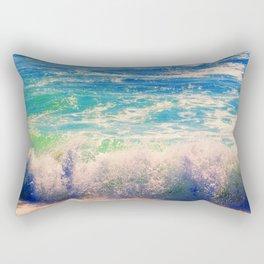 Aqua Mist Rectangular Pillow