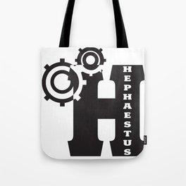 Hephaestus Logo Tote Bag