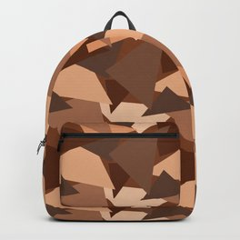 Chocolate Caramels Triangles Backpack