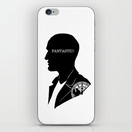 9th Doctor - Quote Silhouette iPhone Skin