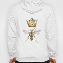 Watercolor Queen Bee, By Heidi Nickerson Hoody