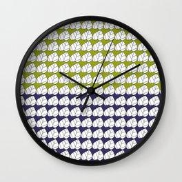 leafdesigntranpat Wall Clock