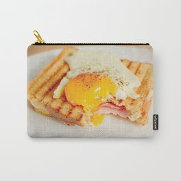 Toast with fried egg Carry-All Pouch