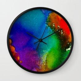 Pride Colors Wall Clock