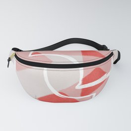 Pink triangles other shapes and colors Fanny Pack