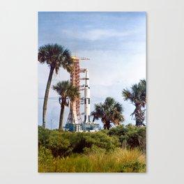 Apollo 8 - Tropical Launch Pad Florida Canvas Print