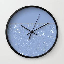 XVI - Blue 1 Wall Clock
