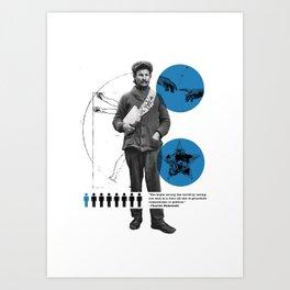 You Can Quote Me - Bukowski Art Print