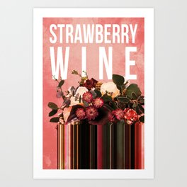 Strawberry Wine in Punch Art Print
